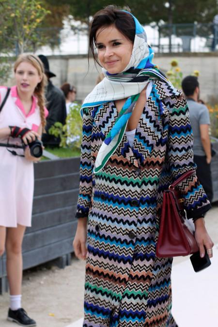 Miroslava Duma en Paris