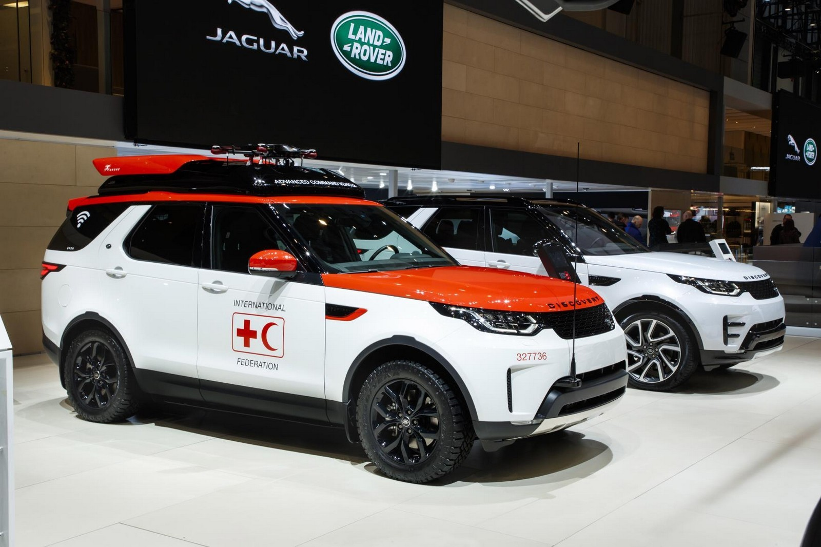 Foto de Land Rover Discovery Project Hero 2017 (9/11)