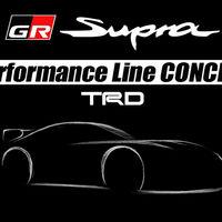 Toyota adelanta el Supra TRD Performance Line Concept: un escaparate de accesorios 'made in' TRD