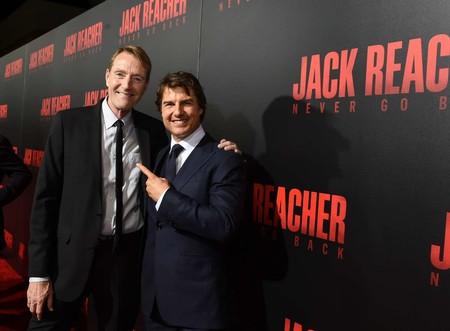 Lee Child con Tom Cruise