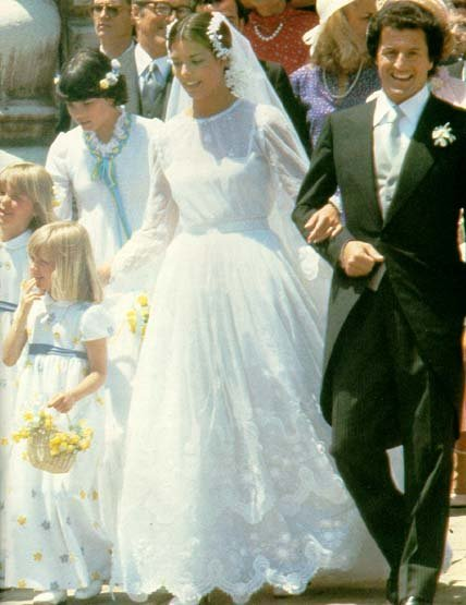 los vestidos de novia de princesas más llamativos de la historia