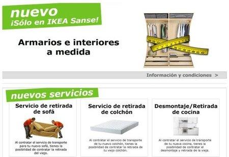 Armarios a medida y otros nuevos servicios en Ikea