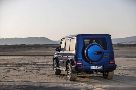 Mercedes Benz G 500 2018 Brilliant Blue Metallic 545