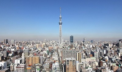 Visita a la nueva torre Tokyo SkyTree