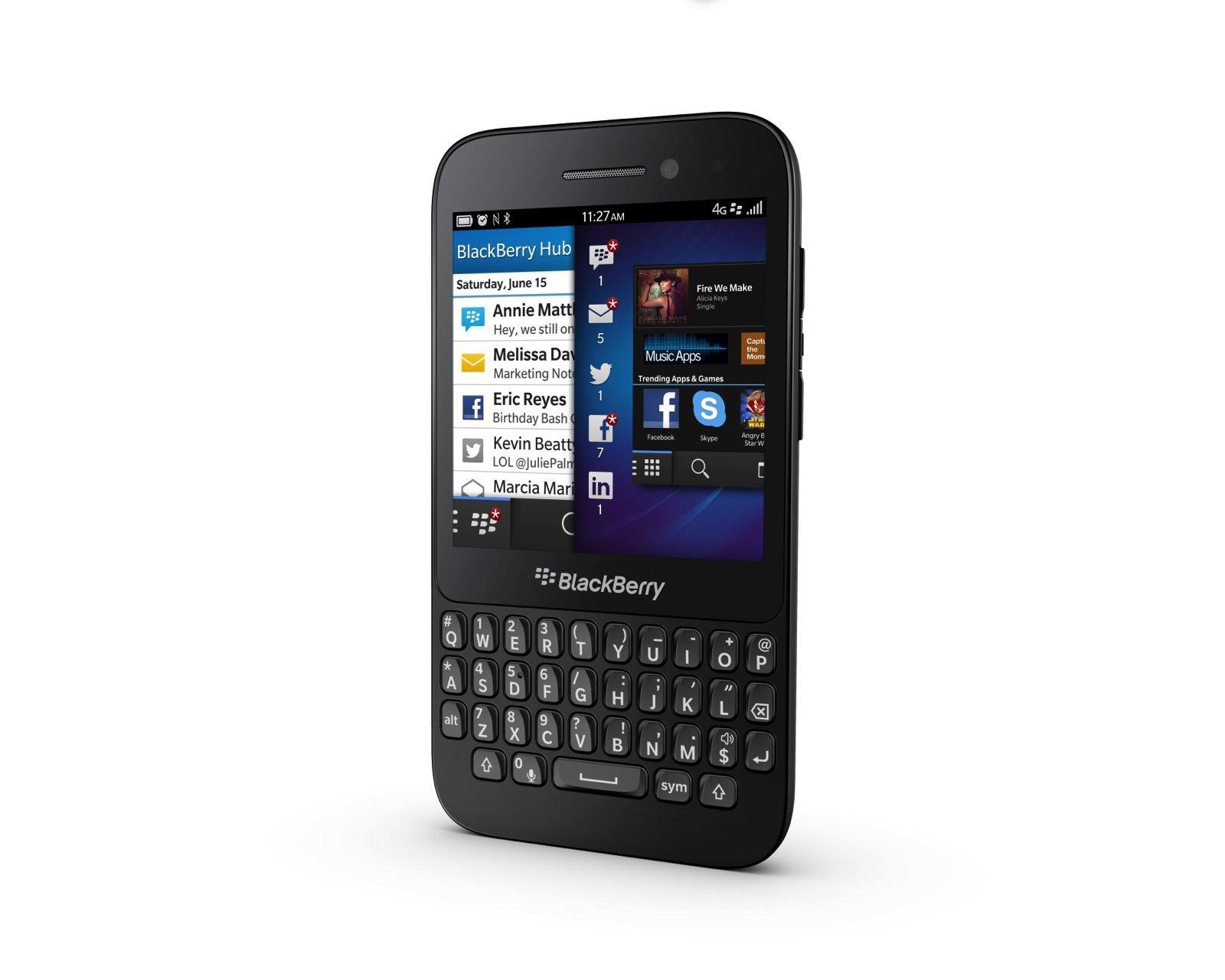 Foto de Blackberry Q5, presentación oficial (3/9)