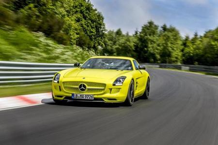 Mercedes-Benz SLS AMG Coupé Electric Drive: nuevo récord en Nürburgring
