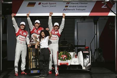 24 horas de Le Mans 2014: Homenaje a Audi, homenaje al #2