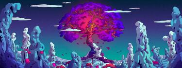 Si buscas el wallpaper perfecto echa un vistazo a la explosión de color en las ilustraciones de Camila Nogueira