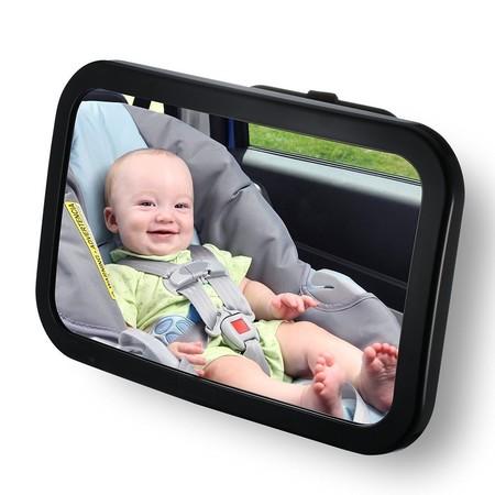 Oferta flash en el espejo retrovisor para coche VicTsing: hasta medianoche cuesta 10,38 euros en Amazon