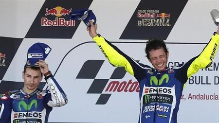 Rossi Jerez Motogp 2016