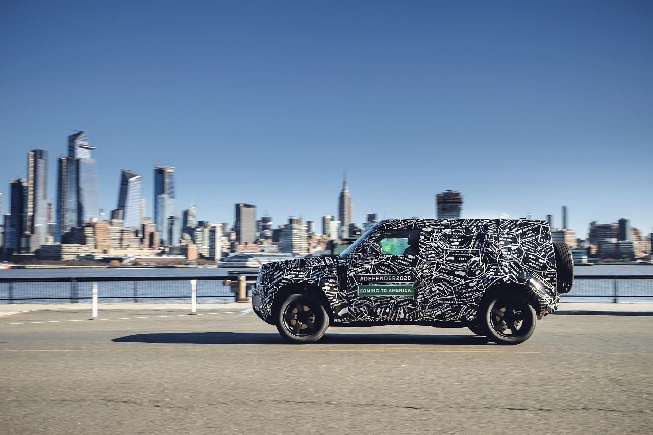 Foto de Land Rover Defender 2020 primeras fotos oficiales (17/24)