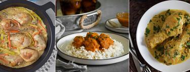 Las mejores recetas de pollo en salsa: 31 propuestas para no aburrirte cocinando en casa