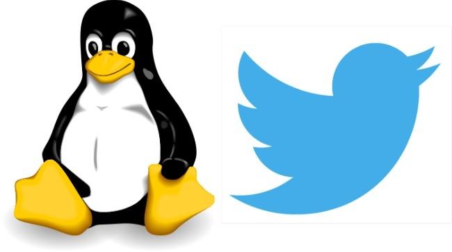 linux twitter tux