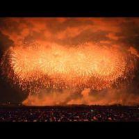 El cohete de fuegos artificiales más potente hasta la fecha: 450 kg de pólvora