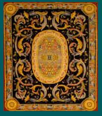 Pisa una auténtica alfombra oriental en Barcelona con Basarabian