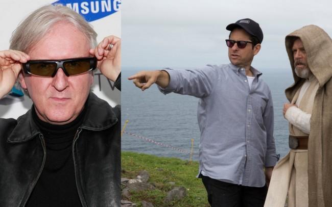 James Cameron, J.J. Abrams y Mark Hamill