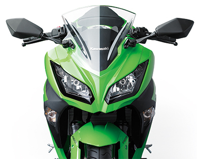 Kawasaki Ninja 300 Frontal