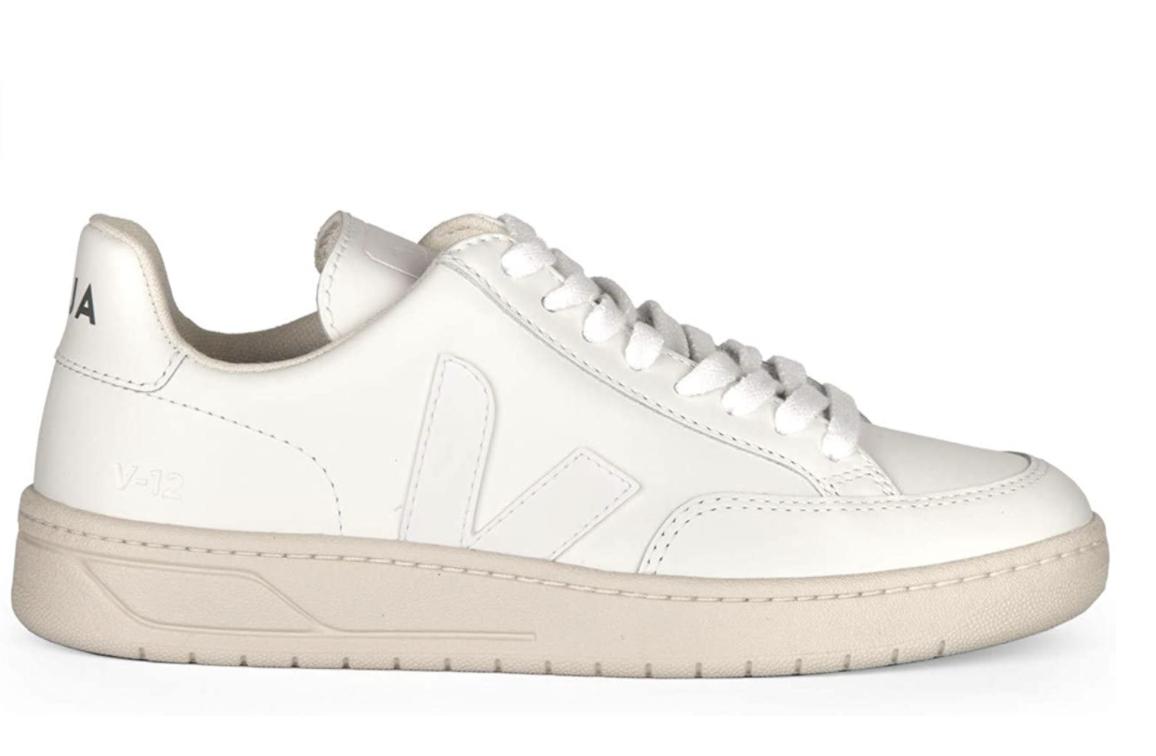 XD022297 - Sneaker da Donna e da uomo VEJA in Pelle Linea V-12