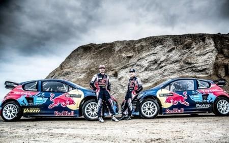 El Mundial de RallyCross comienza su temporada con el castillo de Montalegre de testigo