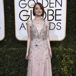 Globos de Oro 2017: Sí al falso bob de Emma Stone en la alfombra roja