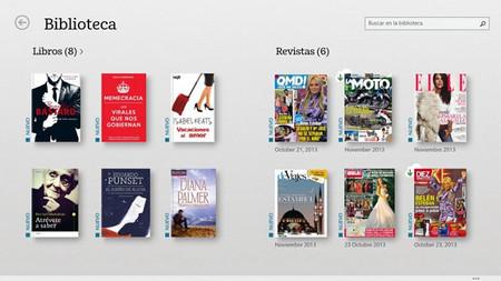 Nook para Windows 8.1 se extiende a 32 países, entre ellos España