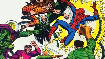 Sinister Six Amazing Spider Man Annual 6 1969