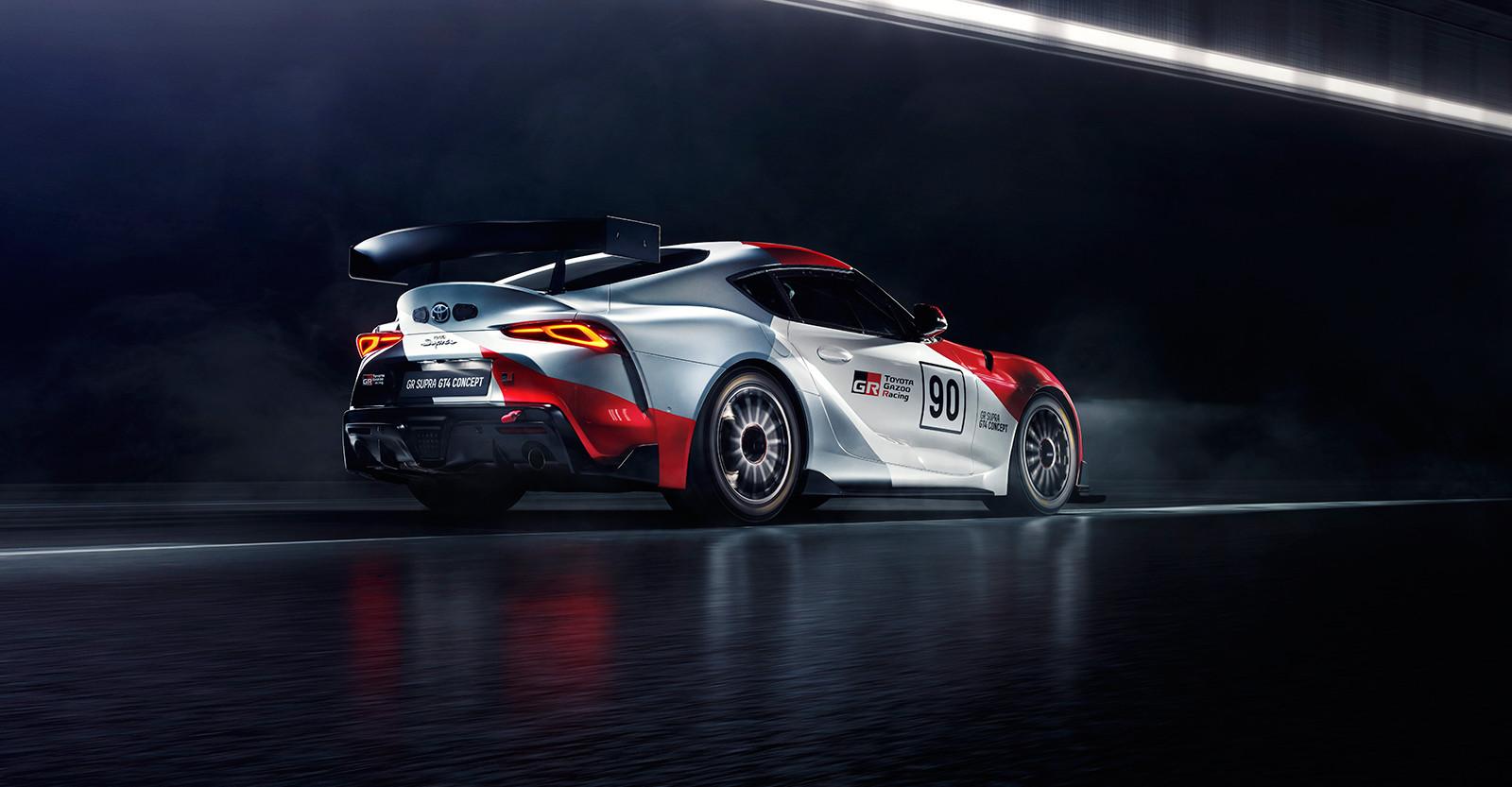 Foto de Toyota GR Supra GT4 Concept (4/6)