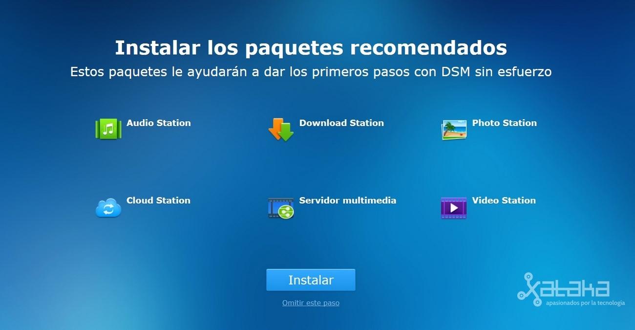 Foto de Instalación del software Synology DiskStatio DS216+ (7/7)