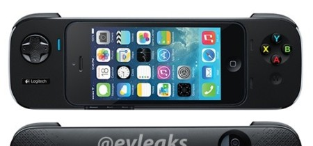 Primera imagen del mando de juegos para dispositivos iOS de Logitech