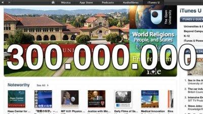 iTunes U llega a los 300 millones de descargas