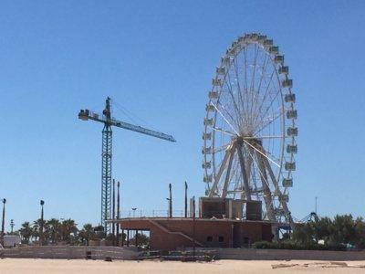 Valencia como nunca antes la has visto desde el mirador móvil más alto de Europa