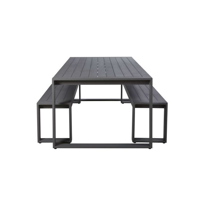 Mesa con 2 bancos - Iledel