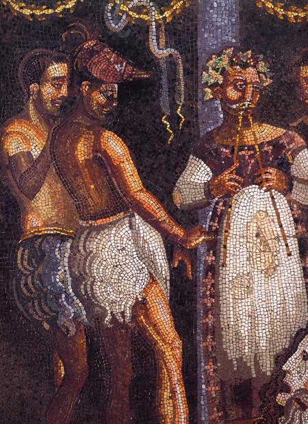 Pompeii Casa Del Poeta Tragico Theater 1