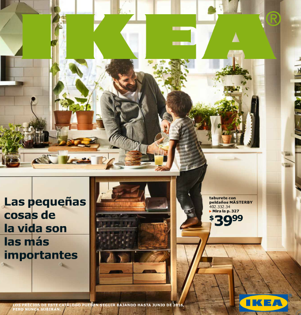 Ya está aquí! El catálogo de IKEA 2016 disponible en su