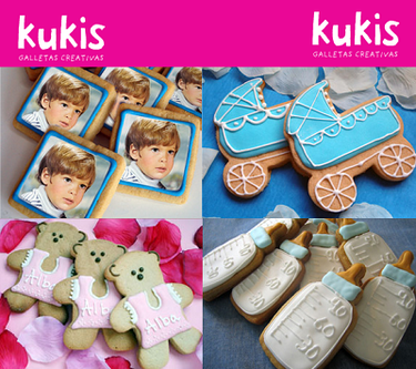 Kukis, galletas creativas