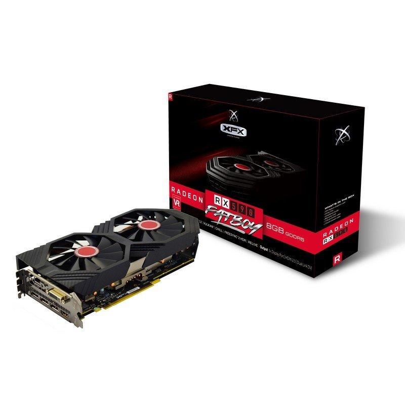 XFX AMD Radeon RX 590 FATBOY OC+ 8GB GDDR5