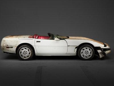 Así ha quedado el Chevrolet Corvette un millón tras ser restaurado
