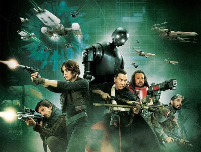 Los héroes de Rogue One