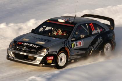 Petter Solberg podría contar con un C4 WRC para Portugal