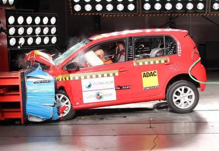 LatinNCAP: 5 estrellas para el Volkswagen Up! brasileño (con video)