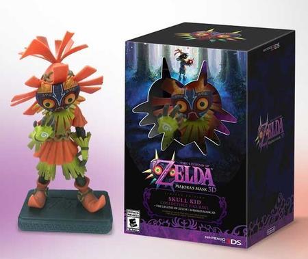 The Legend Of Zelda Majoras Mask 3d Limited Edition