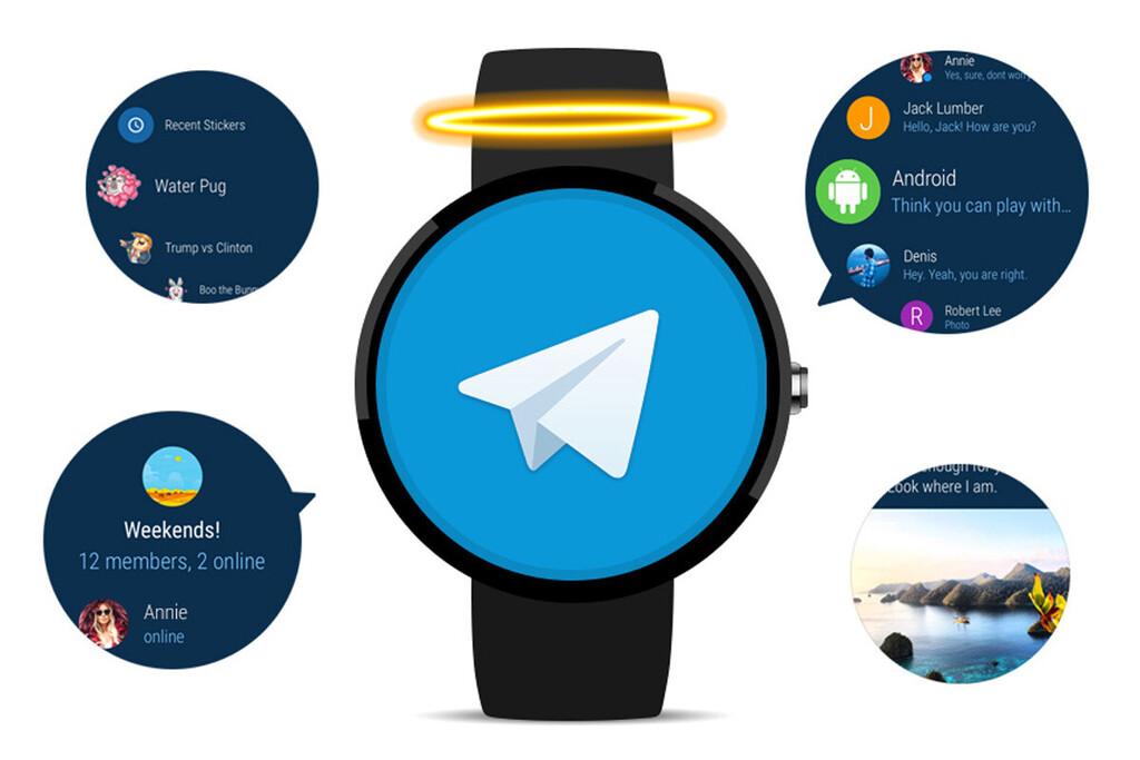 Telegram para Wear OS desaparece al actualizar a la versión 8.0
