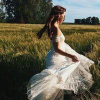 Estos son los siete estilos de vestidos de novia para el campo más buscados en España según Pinterest