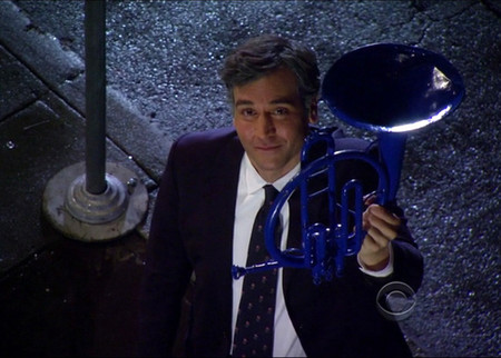 Ted azul trombón