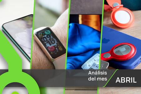 Los 23 análisis de abril de Xataka: 7 móviles, 4 pulseras cuantificadoras y todas nuestras reviews con sus notas