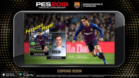 Konami anuncia que Pro Evolution Soccer 2019 llegará a Android y iOS en diciembre de este mismo año