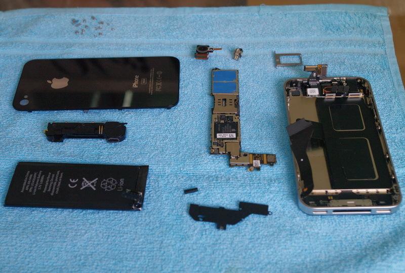 Foto de iPhone 4G / HD descuartizado, nuevos y reveladores detalles (1/4)