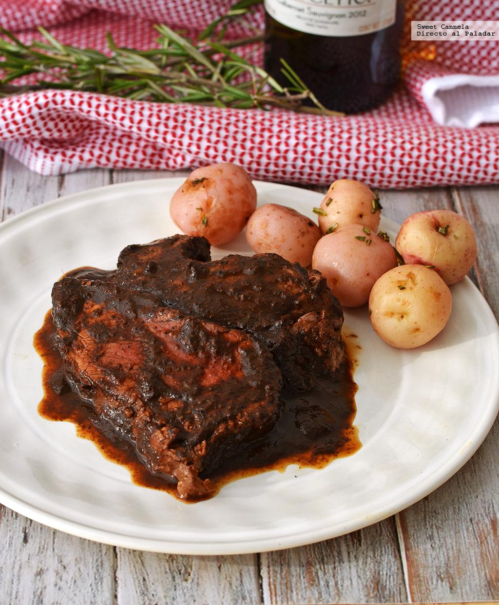 filete de res en salsa de chile pasilla y vino tinto receta para navidad con thermomix