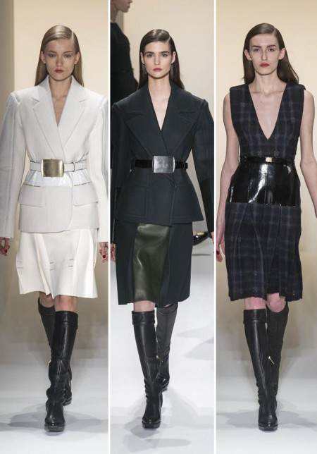 Calvin Klein Collection botas mosqueteras