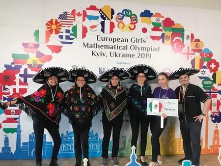 Oro y plata para México en matemáticas: Ana, Nuria, Karla y Nathalia brillaron en Olimpiada Europea Femenil